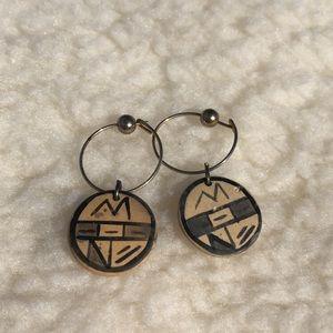 Jewelry - Wooden Charm Earrings